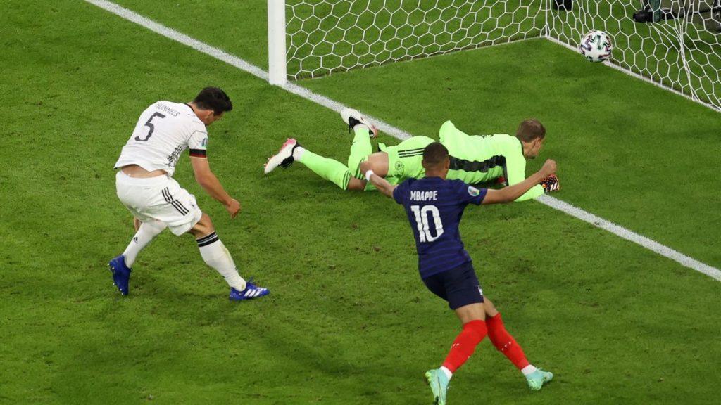 المنتخب الفرنسي يتغلي على ألمانيا